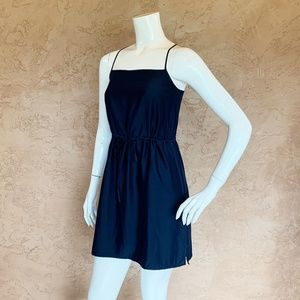 Kate Spade Saturday Silk Navy Strap Dress 4